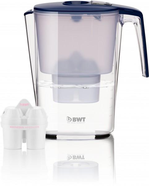 BWT SLIM Tischwasserfilter 3,6 Liter Farbe: BLUE MARINE