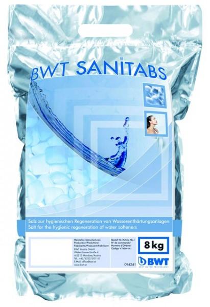 BWT SANITABS mit Hygiene-Wirkung