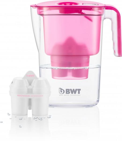 BWT VIDA Tischwasserfilter 2,6 Liter Farbe: PINK KISS